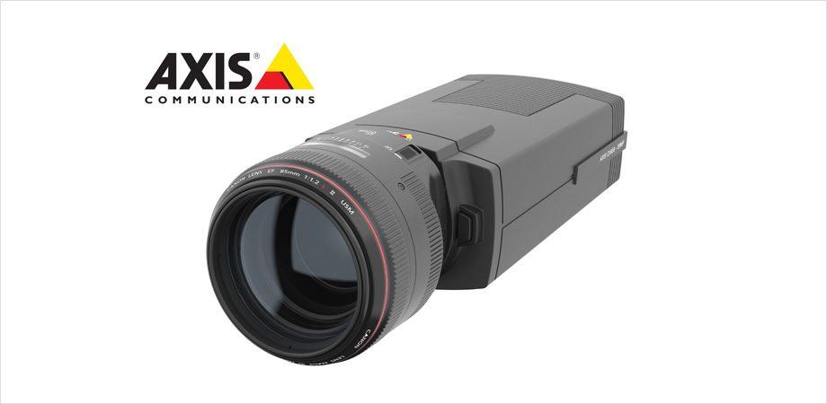 Axis lança sua primeira câmera com lentes da Canon
