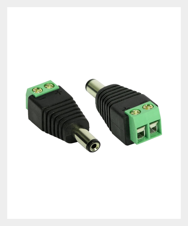 Adaptador Borne X Plug P4 Macho, MR2NET Segurança Eletrônica (01)