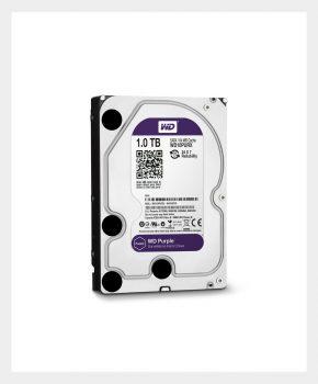 HDD Drive WD10PURX 1TB Sata3 5400rpm 64mb Purple - Western Digital, MR2NET Segurança Eletrônica (01)