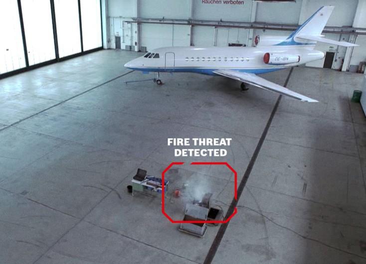 AVIOTEC: Detecção rápida de incêndio e para controle integrado de intrusão, incêndio e acesso