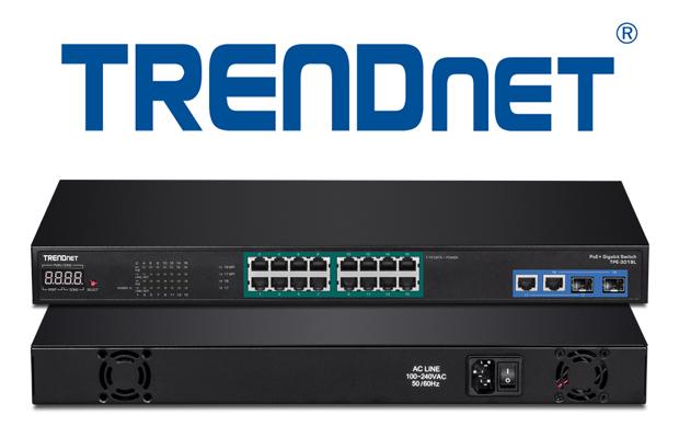 TRENDnet anuncia nova linha de switches de rede para NVRs