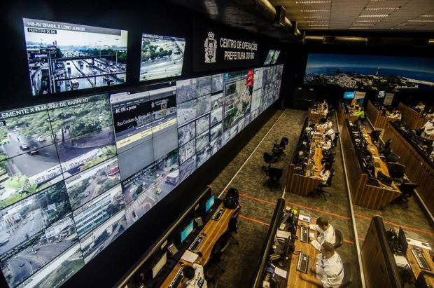 Prefeitura do RJ quer integrar câmeras particulares ao Centro de Operações